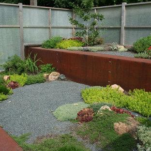 ミネアポリスのインダストリアルスタイルのおしゃれな庭 (ゼリスケープ) の写真