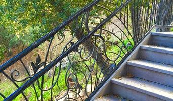 Manzanita and Vine Sculptural Rail