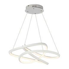 Twisted LED Pendant