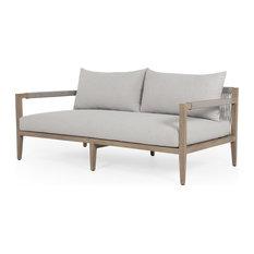 Shayla Outdoor Sofa - Light Grey