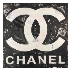 "Contemporary Art Painting 36""x36"" Chanel Art by Matt Pecson"