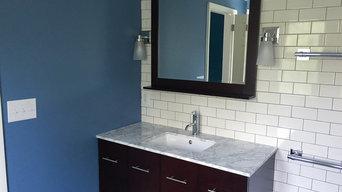 Standalone tub and unique bathroom design in Kingsport, TN