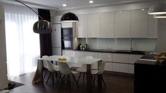 Кухня в частной квартире