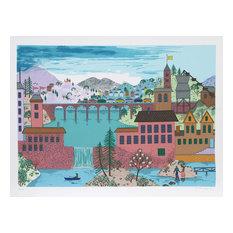 """Mountain Bridge"" Artwork"