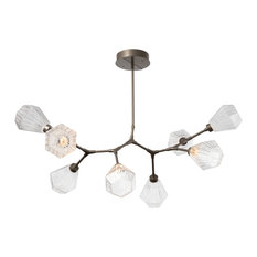 Hedra Modern Branch 8-Piece, Flat Bronze, Optic Twist Amber