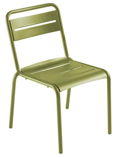 Star Stol, Grön - Udendørs spisebordsstole