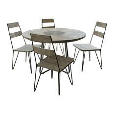 Emile Scandi 5-Piece Outdoor Dining Set