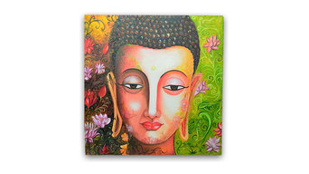 Enlighting Buddha Painting