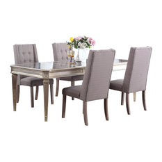 Palais 5-Piece Dining Room Set Otter
