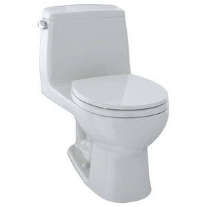 Toto MS853113 Ultimate Round 1.6 GPF Toilet, Colonial White