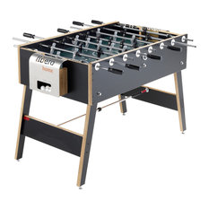 Libero® Home Table Football, Stainless Steel With Legs, Non-Removable Bars