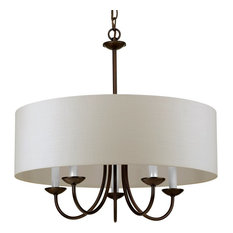 Luxury Transitional Chandelier, Aurora Series, Olde Bronze