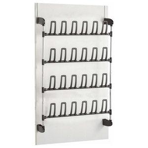 Over Door Hanging Shoe Rack in Steel, Perfect for Space-Saving, Modern Design