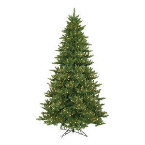 "Camdon Fir Tree, 8.5'x58"", Warm White Led Lights"