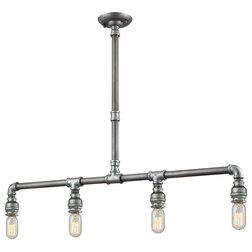 Industrial Kitchen Island Lighting by Lighting New York