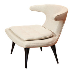 Anvil Lounge Chair, Windsor Woven