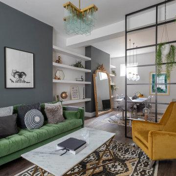 The Parisian Mid Century Livingroom