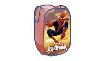 Cesta plegable para guardar juguetes y ropa de Spiderman 36x36x58cm