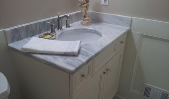 Marble Powder Room