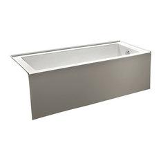 "Eviva Nova Alcove 60"" Acrylic Bathtub with Left Hand Drain"