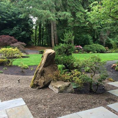 Inspiration for a large home design remodel in Portland