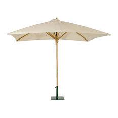 Rectangular Umbrella With 17640 Antique Beige Umbrella Fabric