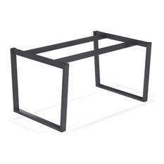 Plateaux et pieds de tables contemporains - Pied de table pour plateau verre ...