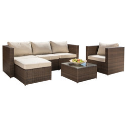 Tropical Outdoor Lounge Sets by Sirio North America Inc