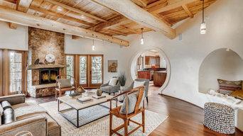 Custom Southwestern/Japanese Home in Santa Fe