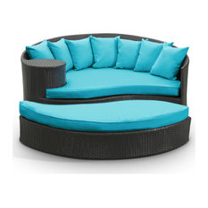 Taiji Outdoor Patio Wicker Daybed by Modway