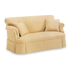 FAIRFIELD CHAIR CO   Tight Back Sofa W Tight Seat (Fabric: Ebony)