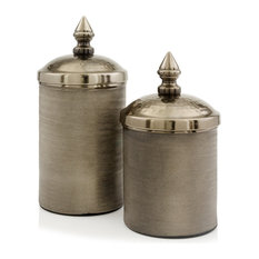 Botes Bronze Canisters, Set of 2