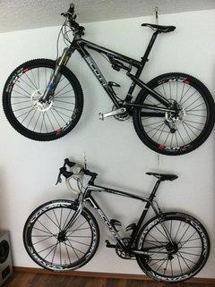 umfrage das fahrrad zu hause richtig aufbewahren. Black Bedroom Furniture Sets. Home Design Ideas