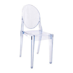 holiday buy victoria ghost chairs set of 2 transparent light blue by