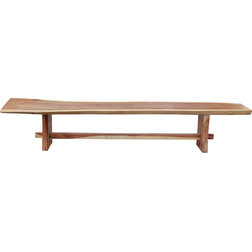 Rustic Outdoor Benches by Chic Teak