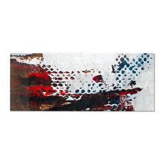 Urban Walls, Abstract Wall Art, Giclee on Metal