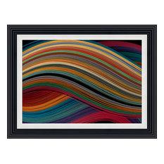 """Symphony"" Framed Art Print, 117x87 cm"