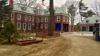 Georgian Mansion Remodel in Newton