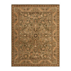"Safavieh Lamare Hand Tufted Rug, Olive and Gold, 9'6""x13'6"""