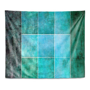 Hybrid Ocean Wall Tapestry Contemporary Tapestries