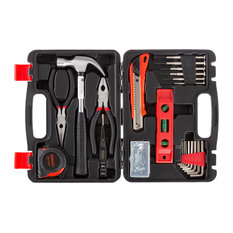 Stalwart Tool Kit 102 Heat Treated Pieces With Carrying Case Essential Steel