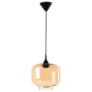 Large Boca Pendant Lamp, Amber