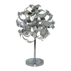Lyndsay 4 Light Table Lamp , Chrome
