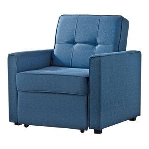Marvelous New York Convertible Chair Bed Contemporary Sleeper Lamtechconsult Wood Chair Design Ideas Lamtechconsultcom