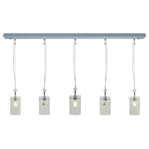 Zylindro Pendant Light, Five Bulbs