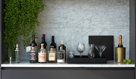Watch a Houzz Editor Discuss Popular Home Bar Ideas