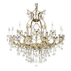 Empress Crystal Chandelier With Crystal Balls
