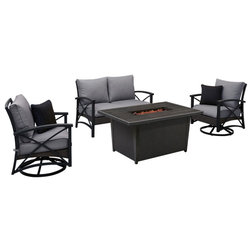 Tropical Outdoor Lounge Sets by OVE Decors