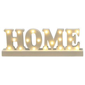 Premier Home Wooden LED Light Up Sign