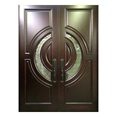 Global Entry Doors   Mahogany Exterior Home Front Entry Door, 5u0027x6u0027 8